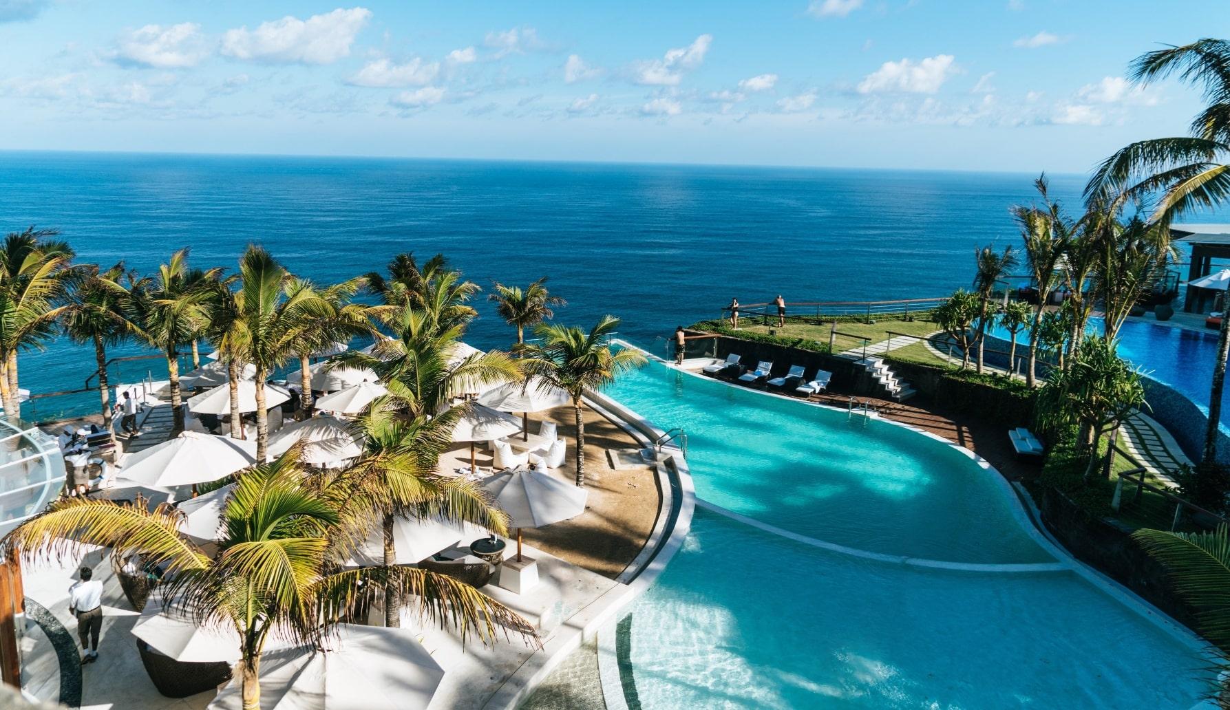 Sea view hotel destination