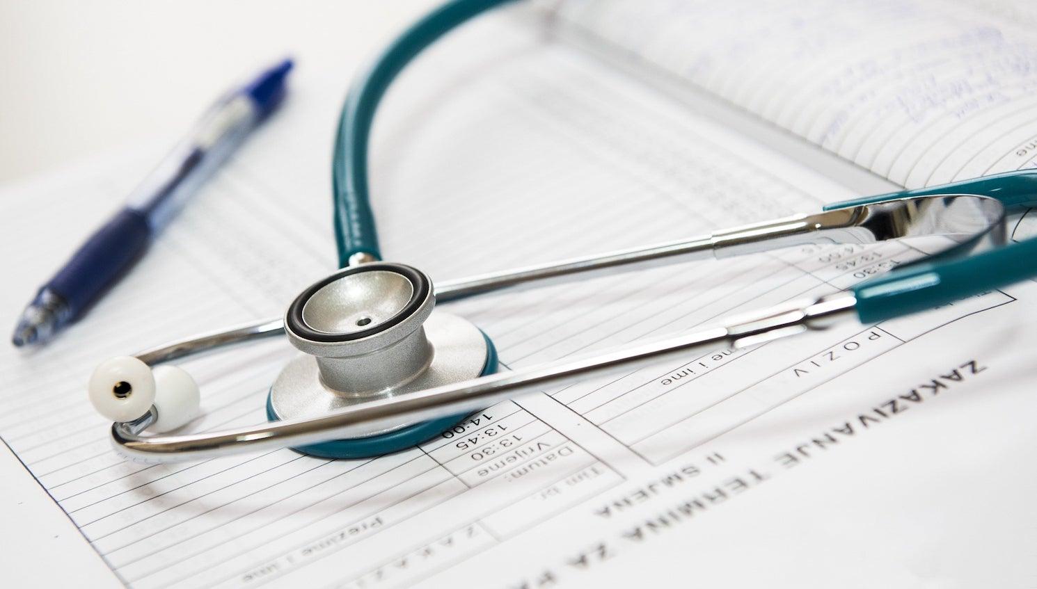 AI in Healthcare - stethoscope